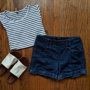 Pants - ☀️3 for 30☀️ Vtg Inspired High Waisted Shorts